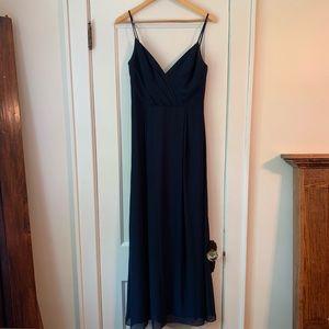 BILL LEVKOFF Bridesmaid Dress Style 7035 in Navy